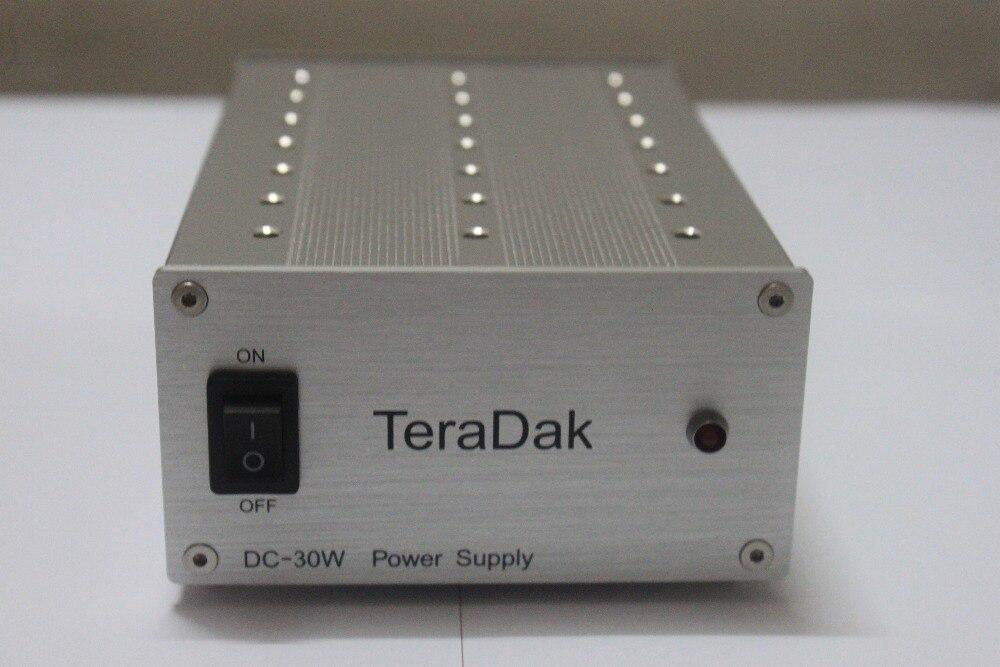 Fuente alimentación lineal regulada TeraDak para DAC CHORD QUTE HD -font-b-Teradak-b-font-DC-30W-15V-1-6A-HUD-MX2-USB-font-b