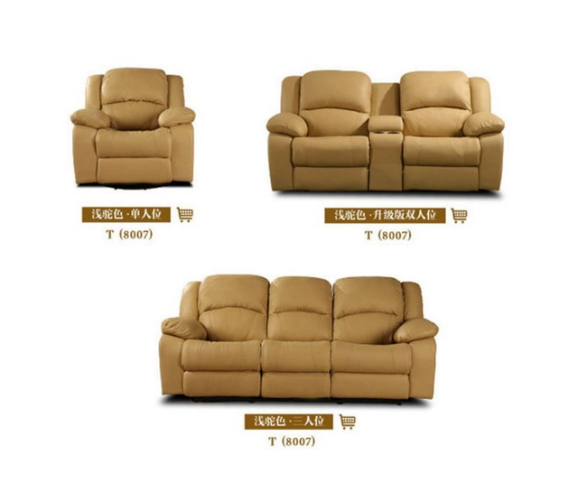 Leather Swivel Recliner Chair 6