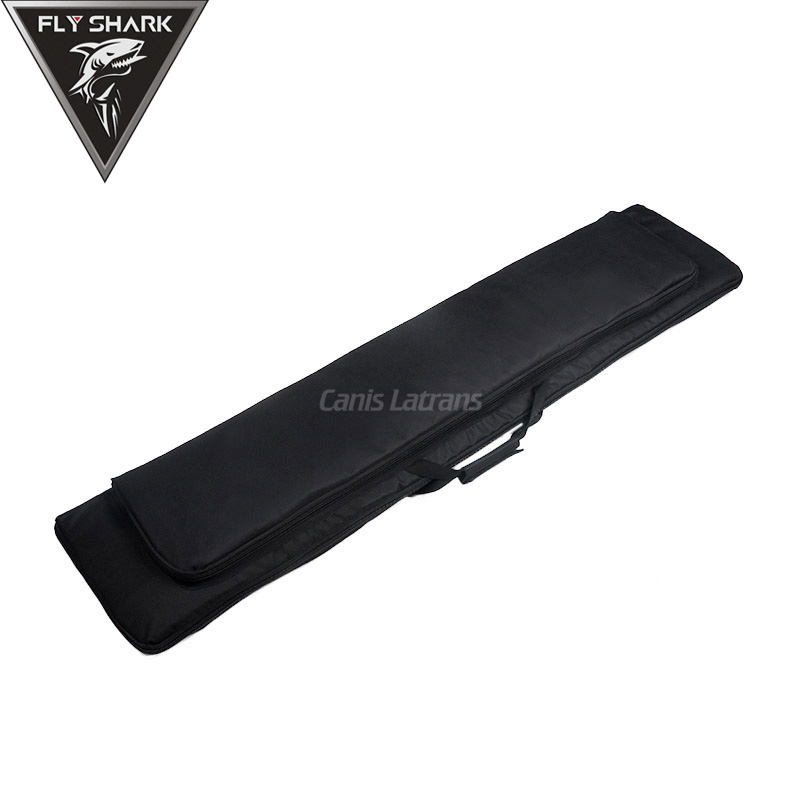 Black Tan Color Airsoft Case 120x30cm Gun Bags for Hunting Shooting gs12-0011