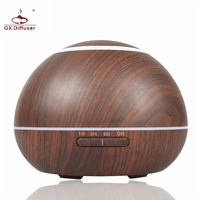 GX Diffuser Air Aroma Humidifier 300ml Changing 7 Colors Electric Aromatherapy Household Mist Maker Essential Oil