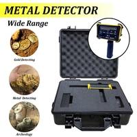 1Set 1000M Metal Detector machine MAX 30M Depth metal Detector Gold Diamond Silver Equipment with Waterproof Packing Box