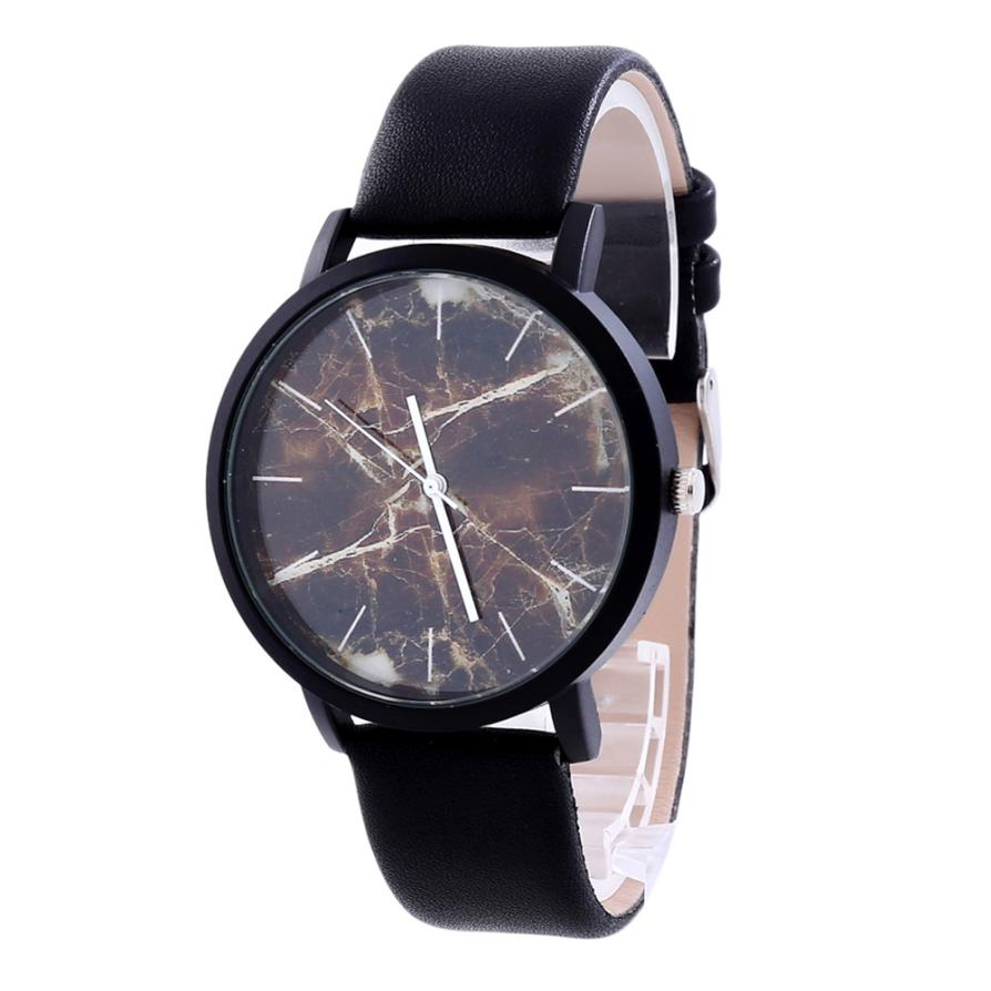 Fashion designer watches women man unisex retro marble for Luxury women