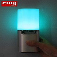 CHYI Portable High Power Speaker Colorful Subwoofer Sound Box Music Column Computer Speakers Boombox Acoustic System Sound Bomb