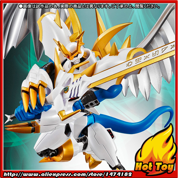 100% Original BANDAI Tamashii Nations S.H.Figuarts (SHF) Exclusive Action Figure - Imperialdramon (Paladin Mode) from Digimon 100% original bandai tamashii nations s h figuarts shf exclusive action figure garo leon kokuin ver from garo