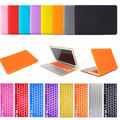 New Laptop Matte Case Cover with Rubber Keyboard Skin For Apple Macbook Air Pro Retina 11/13/15 Laptop Case Free Shipping