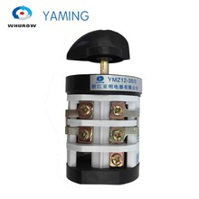 Yaming electric rotary changeover cam switch for tire changer machine tyre handler 32A 690V 3 phase YMZ12-35/3