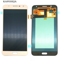 Super AMOLED LCD Display For Samsung Galaxy J7 neo J701 J701F J701M J701MT LCD Display Touch Screen Digitizer Assembly