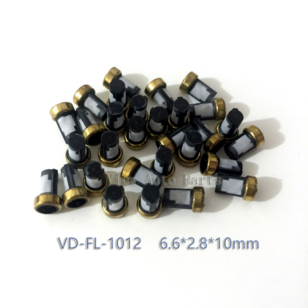 Free Shipping 500pcs Motorcycle Fuel Injector Micro Basket Filter Injector Repair Service Kits VD FL 1012