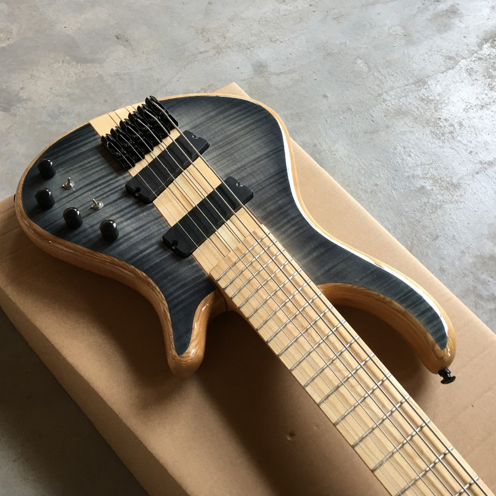 hot 6 string bass guitar. Good style. Good voice. Electric BAZZ Guitar Free shipping, real guitar photo shipping free new arrival factory direct jackson style electric guitar rock voice metal feeling support customization picture