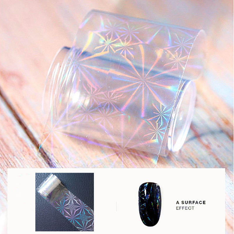 1m 4cm Starry Sky Stickers For Manicure Stickers On Nails Inscriptions 3d Nail Sticker Transparent Foil For Nail Design Decals in Stickers Decals from Beauty Health