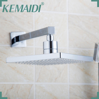 KEMAIDI Free Shipping 8inch Shower Head Without Arm Stainless Steel Head Shower With Shower Arm Top Water Saving Rain Shower