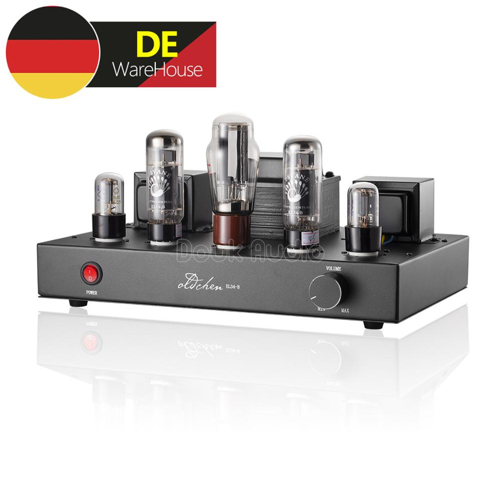 Nobsound EL34 Vacuum Tube Amplifier HiFi Stereo Single-ended Class A Power Amplifier