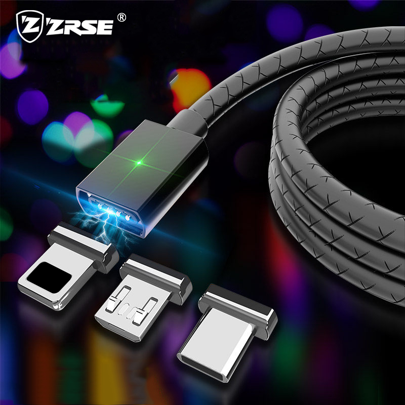 US $1.15 30% OFF|ZRSE 3A Fast Charging Magnetic USB C for Samsung Xiaomi Oppo Redmi Huawe 1m Adapter Magnet Mobile Phone Cables Type C Micro USB -in Mobile Phone Cables from Cellphones & Telecommunications on Aliexpress.com | Alibaba Group