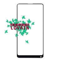 LOVAIN 10PCS Black White Genuine Original For Xiaomi Mix 2 Mi Mix Evo Front Glass Lens