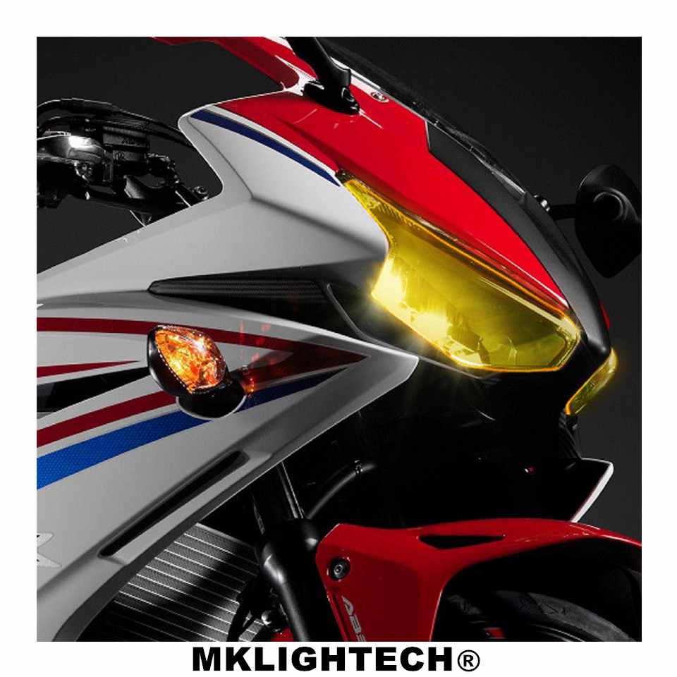 CBR500R Motorcycle Parts Headlight Protector Cover Screen Lens For HONDA CBR 500R CBR500 R 2016 2018 in Covers Ornamental Mouldings from Automobiles Motorcycles