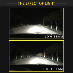 Image 5 - Bombillas LED para faro delantero de coche, H7 H11 H4 Hi/Lo H1 H3 H8 HB1 HB3 HB4 HB5 PS24W HIR2 H13 H16 H27 9005, 3000K 4300K 6000K 8000K COB C6, 2 uds.