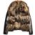 Hombres Chaqueta de Cuero 2016 de Invierno Cálido hombres Chaqueta de Cuero de Cuello de Piel de Zorro Chaqueta de piel de oveja de Cuero de Los Hombres XL 5XL 1100