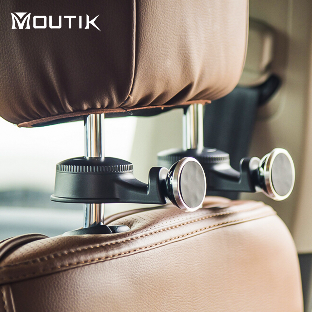 Universal Car Headrest hook Phone Holder Car Back Seat Headrest Magnetic Mount Holder for iphone samsung iPad Tablet GPS stand ...