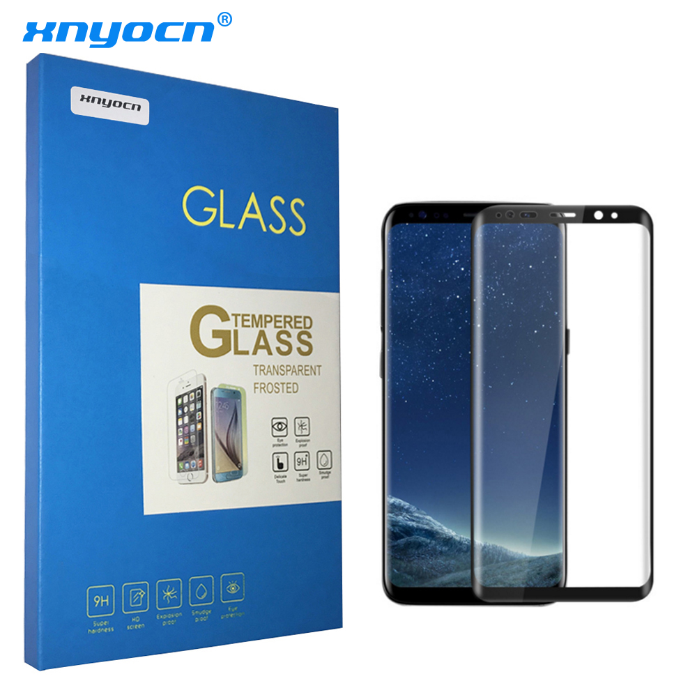 Tempered Glass για Samsung Galaxy S8 S8 Plus 3D Full Cover Screen Protector 9H Nano Coating Protective Film For Galaxy S8 S8 +