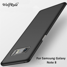 WolfRule For Cover Samsung Galaxy Note 8 Case Slim PC Phone Case For Samsung Galaxy Note 8 Cover For Samsung Note 8 Case N950F аксессуар чехол samsung galaxy note 8 led view cover gold ef nn950pfegru