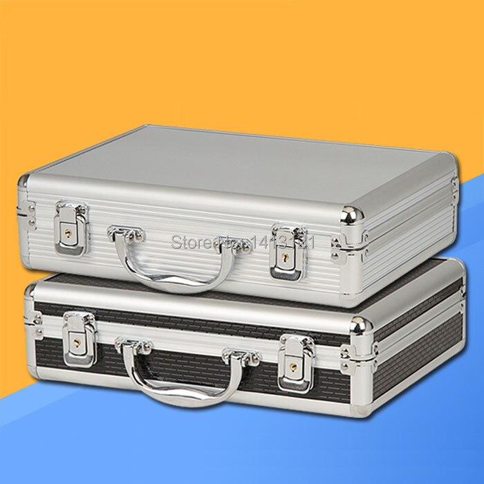 Livraison gratuite boîte à outils en aluminium Portable étui à instruments pièce d'équipement de médecine boîte à outils boîte à cosmétiques boîte à outils boîte d'emballage