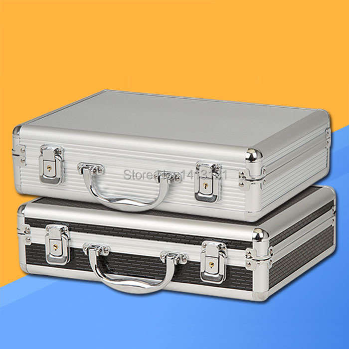 free shipping Portable aluminum toolbox instrument case medicine equipment part toolcase Cosmetic Box tool File box packaging free shipping toolcase storage box home hardware car tool box metal trunk hand toolbag tool packaging suitcase