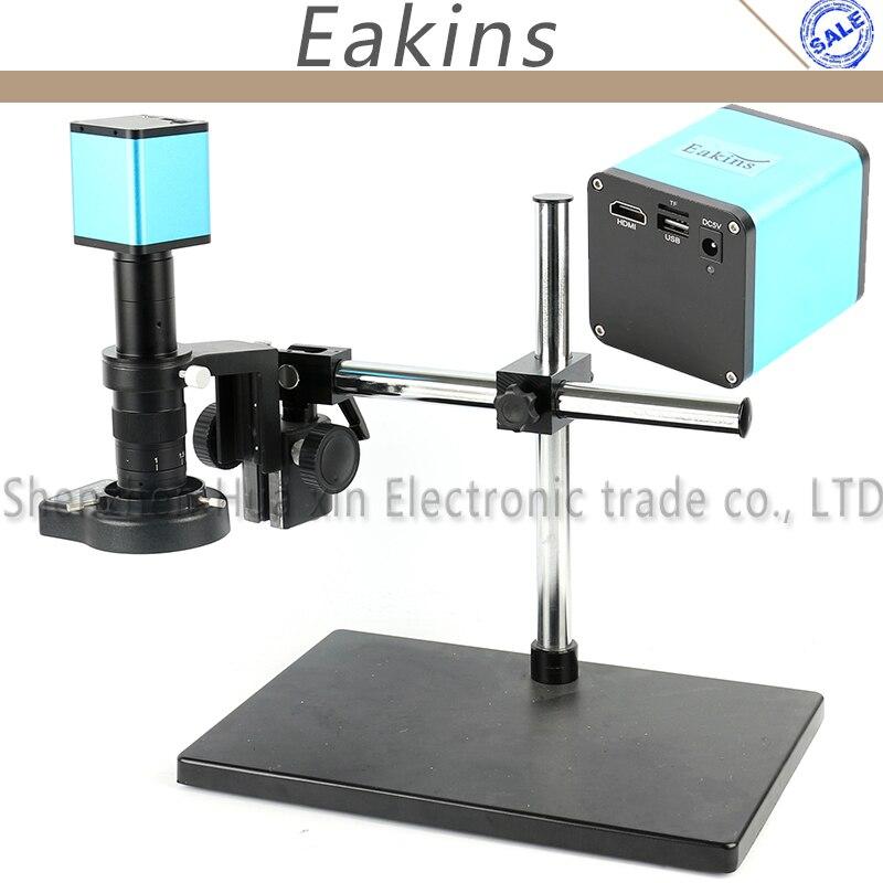 Autofocus 1080 P 60FPS SONY CAPTEUR IXM290 HDMI Vidéo L'industrie Autofocus Microscope Caméra 180X Lentille Système de Travail Pour Phon réparation