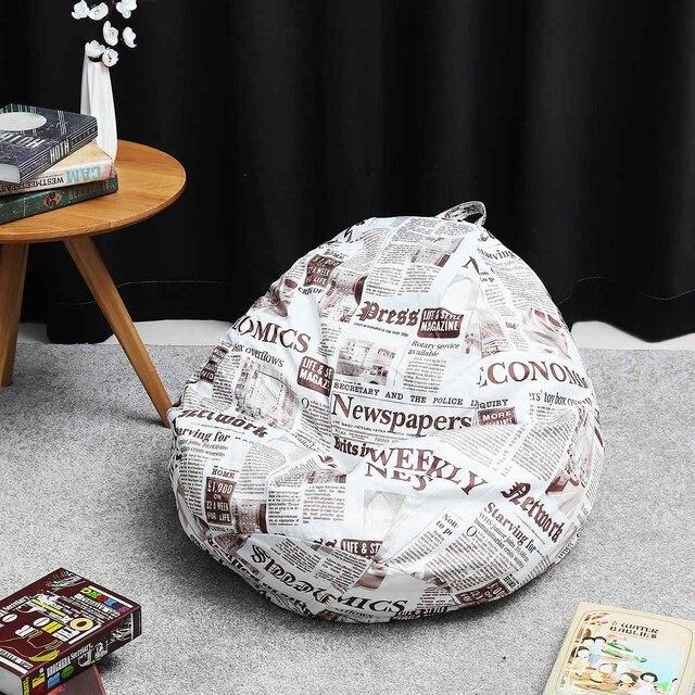 Grand petit Pouf paresseux canapés couverture chaises sans remplissage chaise longue siège Pouf Pouf Pouf Pouf canapé Tatami salon
