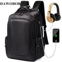 Men Backpacks For Teenager 15.6 Laptop Backpack USB Charger Bag Antitheft Backpack for Women Schoolbag Travel Backpack Mochila