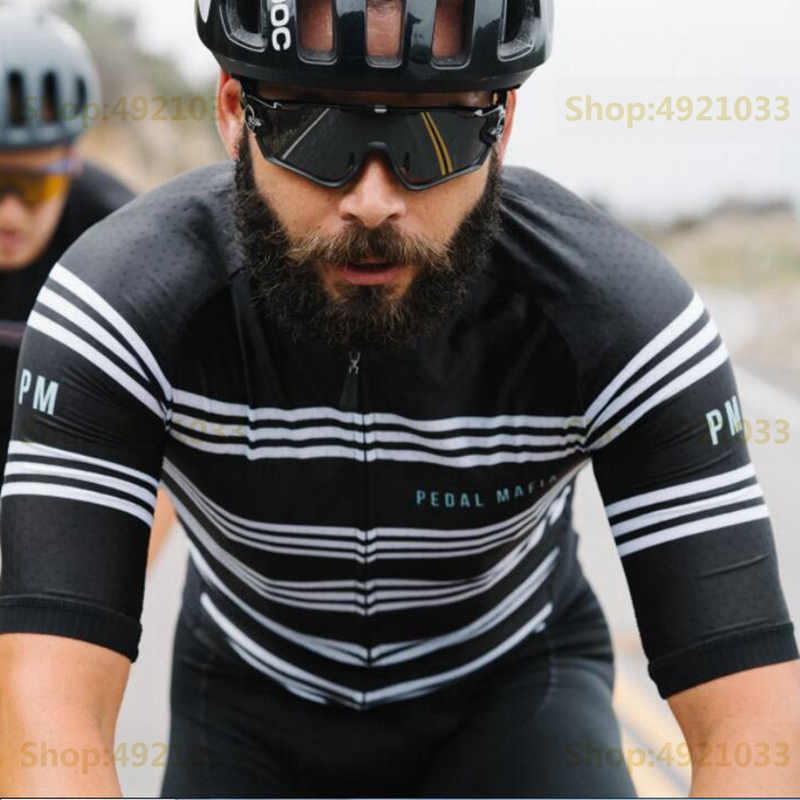 Pedal mafia 2019 Summer New cycling jersey men MTB Bicicleta racing clothing tops short sleeve cycle