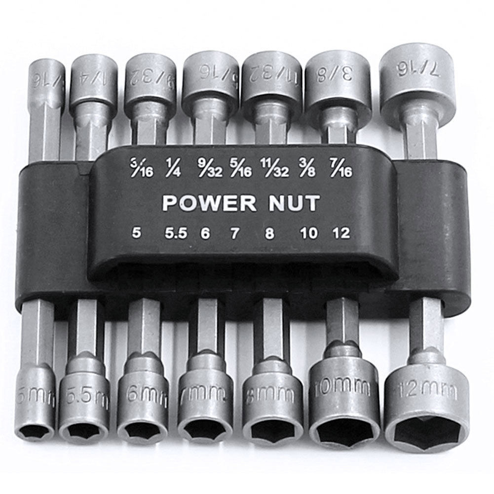 High Quality 14 Pcs SEA Metric Power Nut Driver Hex Shank Set Kits With Belt Clip Fine --M25 sea power настенные интерьерные часы sea power ck043mw