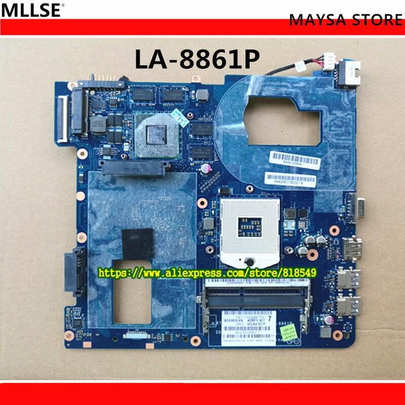Laptop Motherboard Fit For Samsung NP350 NP350V5C 350V5X Notebook QCLA4 LA-8861P BA59-03397A BA59-03538A BA59-03393A BA59-03541A