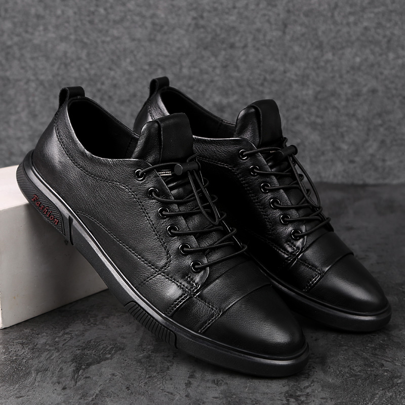 Man Flat Classic Men Dress Shoes Outdoor Lace Up Genuine Leather Wing Tip Carved Italian Formal Oxfords Shoes Size 38-47 N1