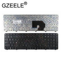 GZEELE New for HP US Laptop Keyboard 634016-001 NSK-HJ0US 63