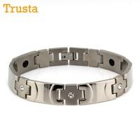 Wholesale Lot 2015 Cool Men Women Office Gift Cross Germanium Energy Titanium Stainless Steel Bracelet 4327