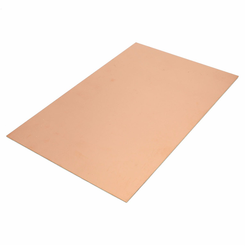 1pc FR4 PCB Double Side Copper Clad plate DIY PCB Kit Laminate Circuit Board 200mm x 300mm photoelectric switch sensor square reflex light barrier sensor photoelectric switch ac 90 250v mayitr
