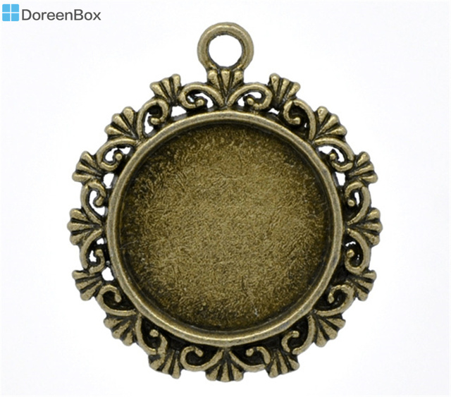Doreen Caja Encantadora 10 de color Bronce Configuración Cameo Frame ...