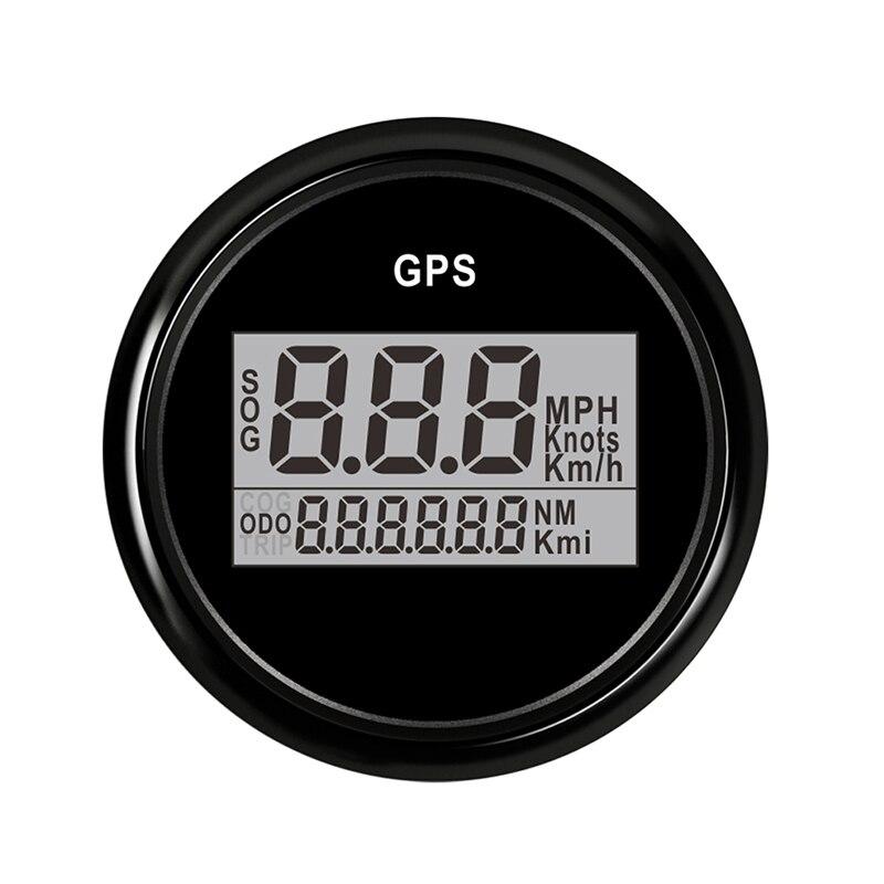 Marine Boat Digital GPS Speedometer Waterproof fit For Hyundai Car Motorcycle speed gauge sensor 12V 24V 52 mmMarine Boat Digital GPS Speedometer Waterproof fit For Hyundai Car Motorcycle speed gauge sensor 12V 24V 52 mm