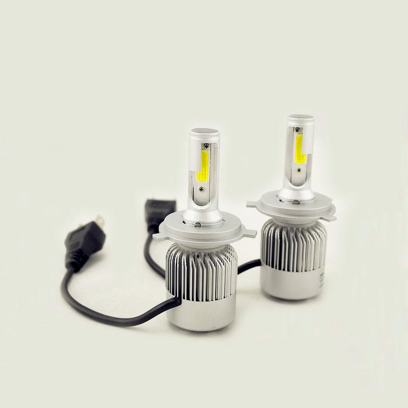 Prix pour 4000 Lumens 36 W COB LED Est Livré Avec Ventilateur Cooli 12 V 24 V H1 H3 H4 H7 H11 Phare De Voiture Kit Avant Ampoule Brouillard Ampoule Projecteur remplacer