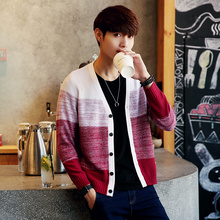 Amazon Quality Drop Shipping 2016 Autumn Mens Sweaters Winter Cardigan Man's Knitwear Slim Fit Brand Clothing Sweater Coats