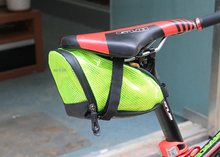 Free Shipping Cycling Bag Bikes Bicycle Saddle Bag Riding Portable Folding Bicycles Rear Saddle Bottle Bags MTB Seatpost Package
