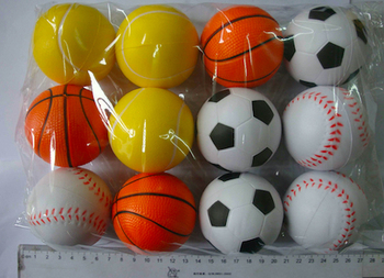 Free1 color  logo Free DHL/EMS Shipping Customized Stress Balls Squeezy Balls, Size 40mm,50mm,55mm,60mm,70mm,80mm,90mm