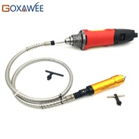 GOXAWEE 110V 240W Mini Electric Drill For Dremel Style Power Tools Die Grinder With Flexible Shaft