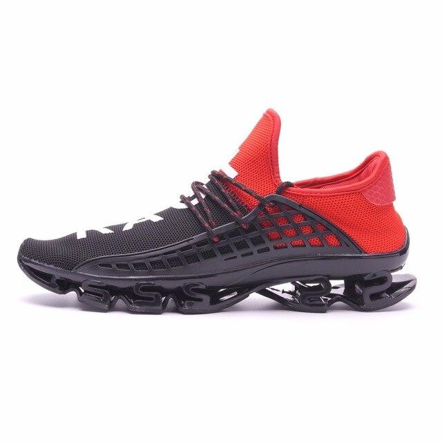 Joomra Для мужчин спортивные кроссовки 2017 босоножки упражнения Пара кроссовки Обувь с дышащей сеткой обувь с буквами Размер 36–44 кроссовки для Для мужчин