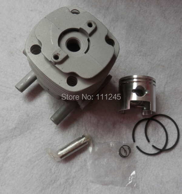 40MM  B45 CYLINDER KIT Fits SHINDAIWA BP45 GP450 WEEDEATER BRUSHCUTTER ZYLINDER w/ PISTON Ring Pin clips ASSEMBLY REBUILT 38mm cylinder barrel piston kit