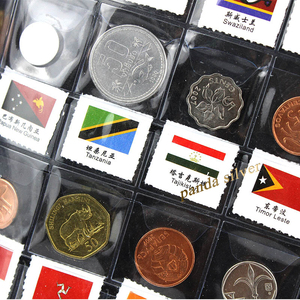 Image 5 - 120 เหรียญจากประเทศ world, Original Real mint เหรียญอัลบั้มหนัง, world Collection ชุดสะสม