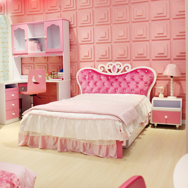 Children S Bed Princess Bedroom Furniture Suites Of Twin For Young