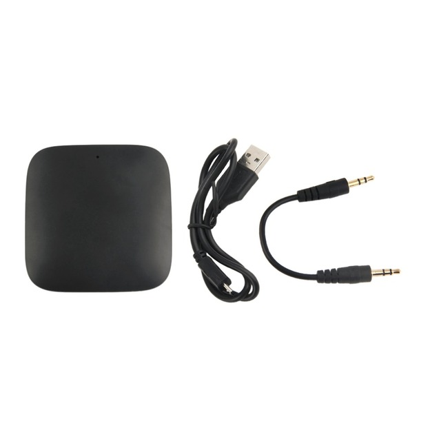 Q16 Inalámbrica Bluetooth V4.1 Dongle Del Adaptador Del Receptor Transmisor de Audio Bluetooth Portátil Reproductor de Música Negro