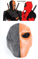 The New Teen Titans Deathstroke Deadpool Helmet Full Face Resin Mask Resin Cosplay Costume Accessories Props for Masquerade