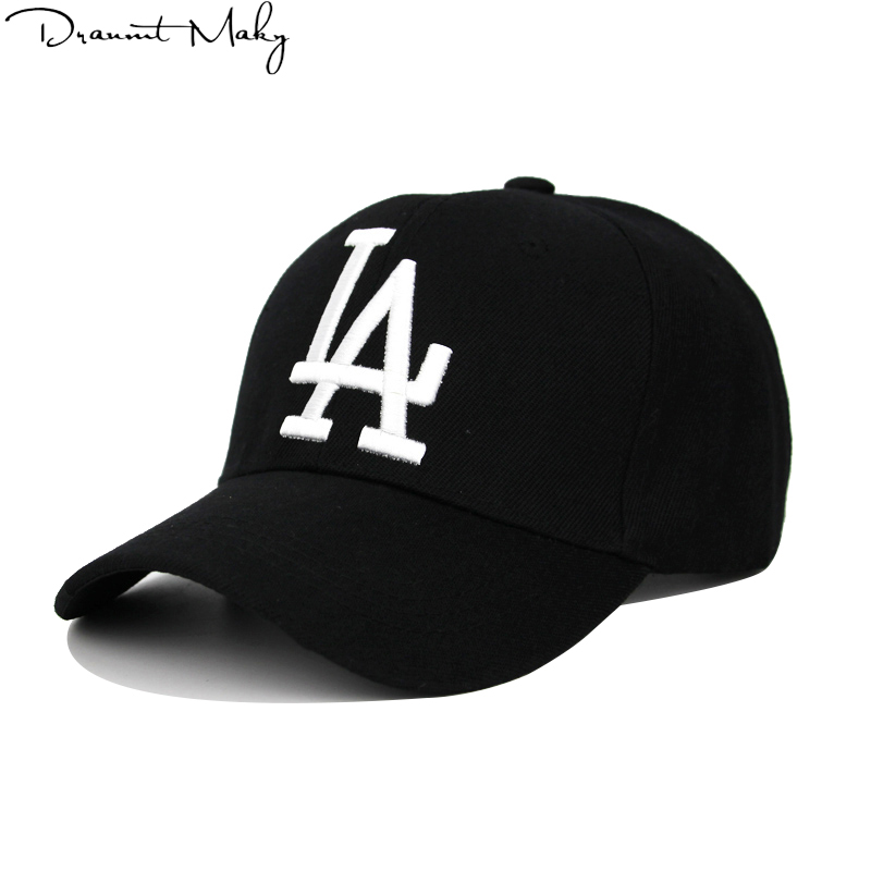 New Fashion LA Baseball Caps Dodgers Embroidery Hip Hop bone Snapback Hats for Men Women Adjustable Gorras Unisex Cap wholesale 2017 new fashion women men knitting beanie hip hop autumn winter warm caps unisex 9 colors hats for women feminino skullies